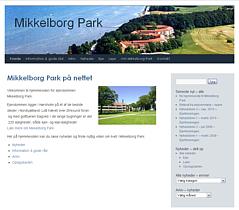 Hjemmeside for Mikkelborg Park, bebyggelse med ejere og lejere.